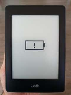 "Kindle Paperwhite 3 6"" Wifi Ereader 4GB Black 2014 (DP75SDI)"