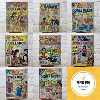 Vintage Archie Comics (Double Digest Magazine)