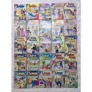 Vintage Archie Comics (Digest Magazine)