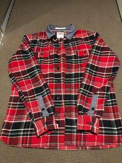 LEVI's red plaid shirt