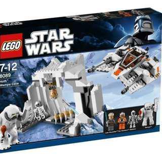 Price reduced ! Lego Star War 8089 Hoth Wampa Cave