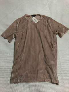 Corduroy style shirt