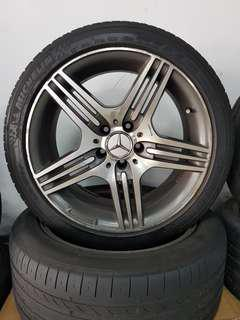 18 Inch 5x112 Used AMG Rims & Tyres