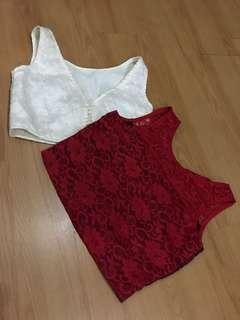 Lace Crop Top Bundle