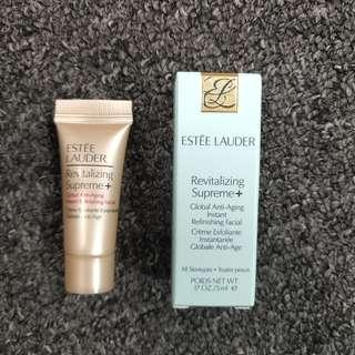 BRAND NEW ESTEE LAUDER Revitalizing Supreme+  Global Anti-Aging Instant Refinishing Facial 5ml with box