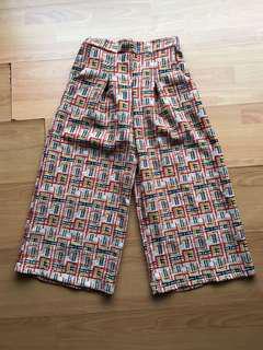 Aztec Print Culottes