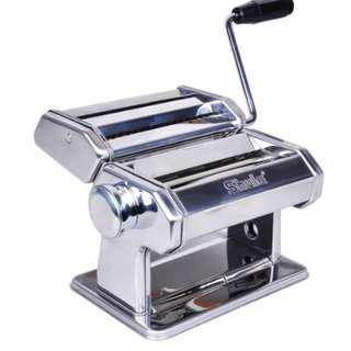 (out of stock) Noodle Pasta Maker Stainless Steel Nudeln Machine Lasagne Spaghetti Tagliatelle Ravioli Dumpling Maker Machine With Two Cutter