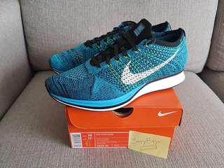 Below retail Brand New 100% Authentic Nike Flyknit Racer US10/UK9