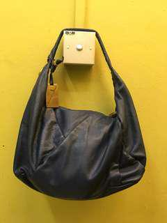 Authentic MBMJ hobo leather handbag