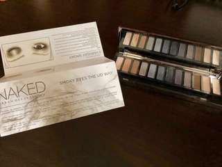 Authentic Urban Decay NAKED Smoky Eyeshadow Palette