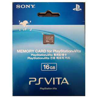 16GB Memory Card for Playstation Vita