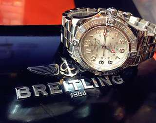 Breitling Colt GMT Date Automatic Watch Full Set