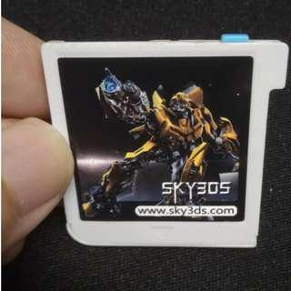 2 SKY3DS (Blue Button)