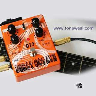toneweal guitar effect pedal GT0 - Burst octave