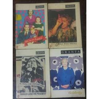 Free shipping: Granta Bundle 1 (rare collection)