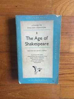 Boris Ford (ed.) - A Guide to English Literature: The Age of Shakespeare (Pelican Books, 1956)