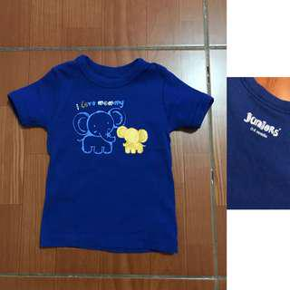 Juniors shirt for baby boy