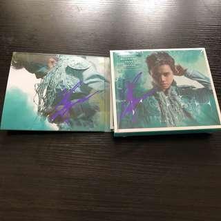 張敬軒 親筆簽名 cd