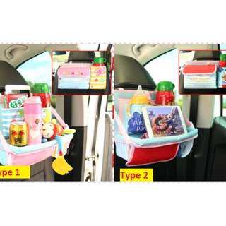 car seats storage bag pockets seat organizer hanging bags organiser leather