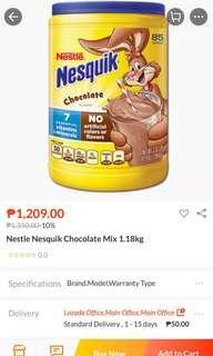 Nesquik 41.9 oz