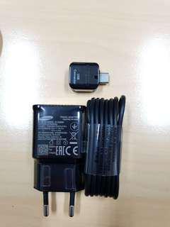 Charger hp samsung original authentic s9 plus