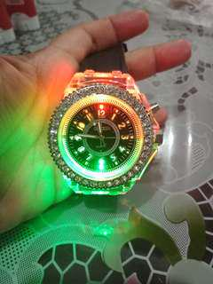 Geneva lightning watch