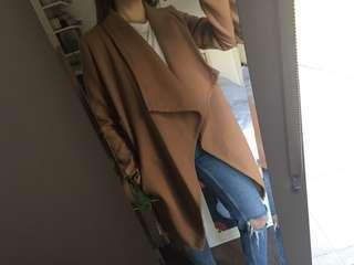 Camel warm jacket