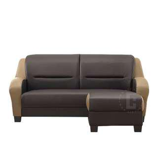 3 seater sofa + stool