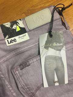 lee名牌紫色褲