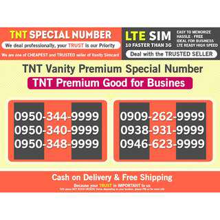 TNT PROMO For Business good Number other Globe Smart  Lucky 99999