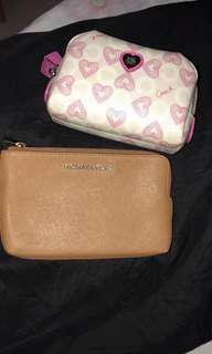 Coach Heart Pouch/Cosmetic Pouch