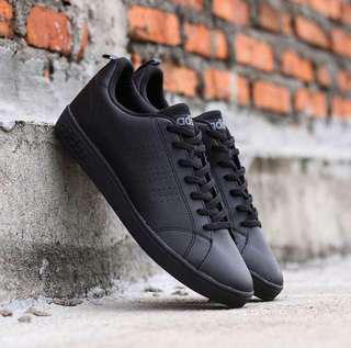Adidas neo advantage full black ori made in indonesia