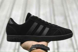 Adidas neo baseline all black ori made in indonesia