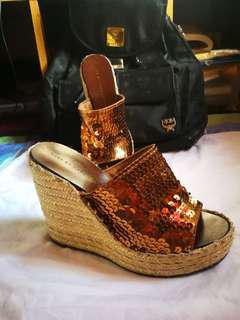 MARC by Marc Jacobs Sequins Wedge