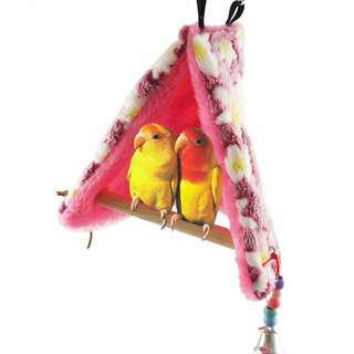 Parrot Bird Toy Hammock Nest Tent with perch
