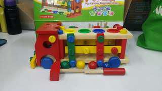 木制益智玩具車