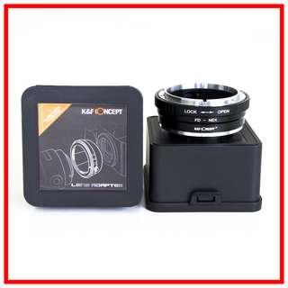 K&F Concept Canon FD to Sony E mount Adapter