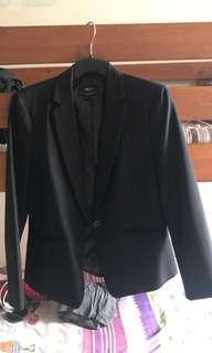 G2000 Slim fit Black Blazer
