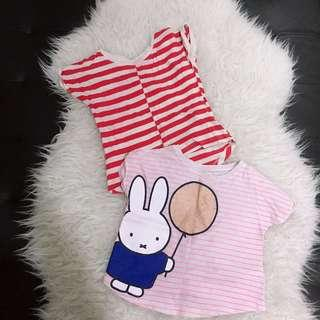 Kids baby tee shirt cotton on mothercare gap uniqlo