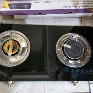 Kompor gas tecstar automatic gas cooker