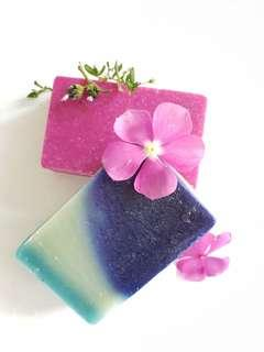 🚚 BN HOME MADE FLORAL NOTES SOAP BAR 2 PACK