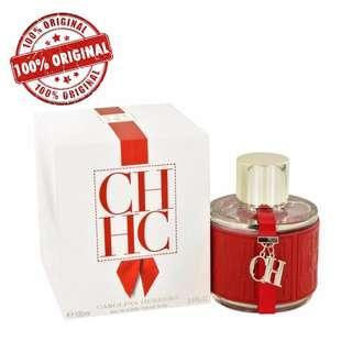 Carolina Herrera CH Women EDT 100ml Perfume (ORIGINAL) Authentic