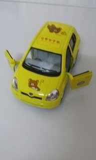 Rilakkuma toy Car (Toyota Vitz)