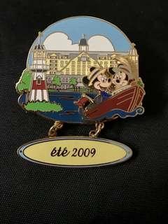 絕版 Paris Disney LE 900 Pin- 法國迪士尼米奇米妮章
