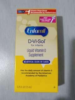 Enfamil Liquid Vitamin D Supplement美贊臣安嬰兒維生素D補充劑