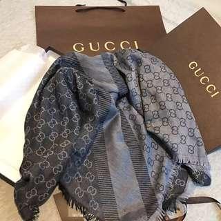 🚚 歐洲代購Gucci披肩圍巾9/21回台
