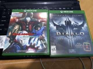 Diablo 3 and Devil May Cry 4