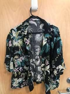 Pull&bear Hawaiian type button up