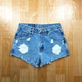 Wrangler hotpants jeans