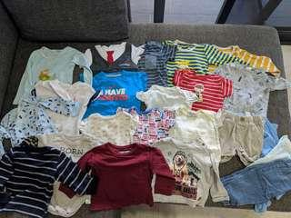 50+ pcs Baby Boy Clothes Bundle